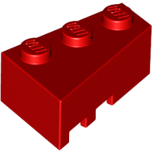 Brick, Wedge 3x2 Right (Red)