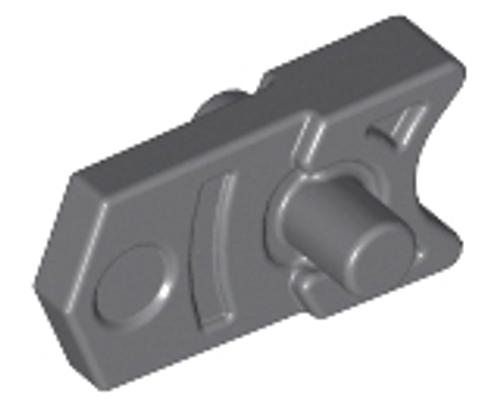 Projectile Launcher Part, Trigger for Gun, Mini Blaster / Shooter (Dark Bluish Gray)
