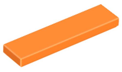 Tile 1x4 (Orange)