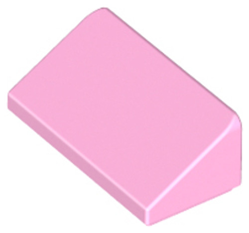 Slope 30 1x2x2/3 (Bright Pink)