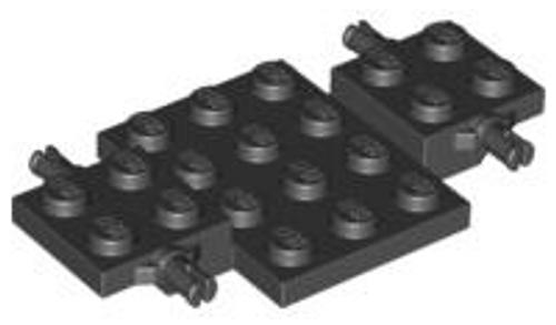 Vehicle, Base 4x7x2/3 (Black)