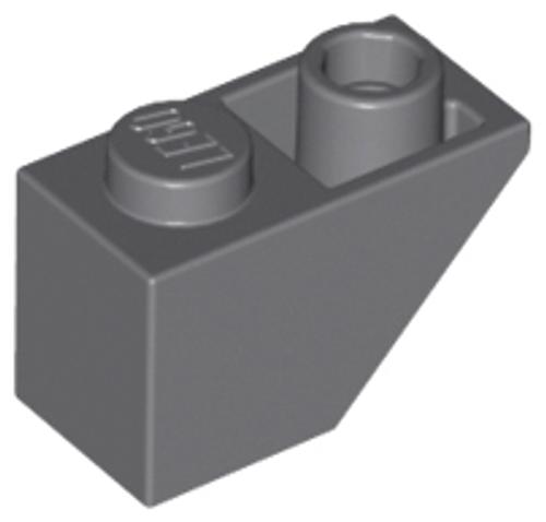 Slope, Inverted 45 2x1 (Dark Bluish Gray)