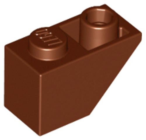 Slope, Inverted 45 2x1 (Reddish Brown)
