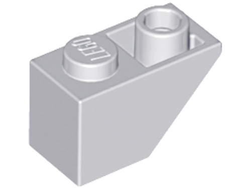 Slope, Inverted 45 2x1 (Light Bluish Gray)