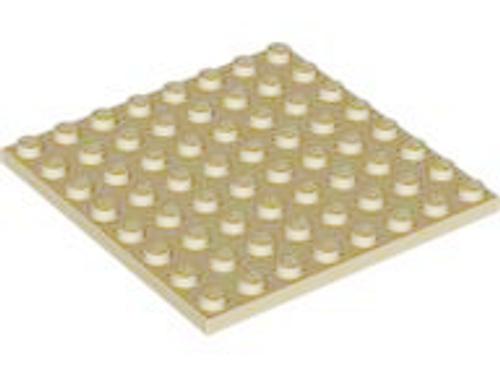 Plate 8x8 (Tan)