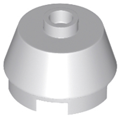 Brick Round Slope Cone 2x2 Truncated (Light Bluish Gray)