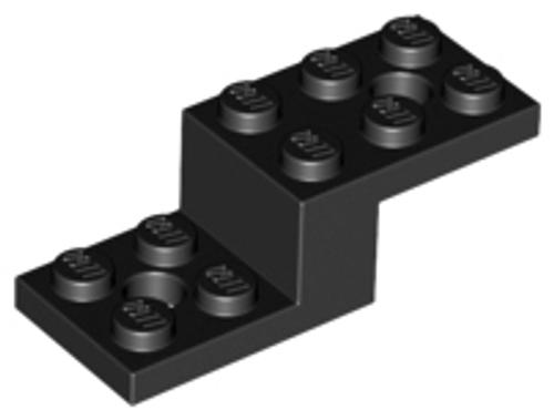 Bracket 5x2x1 1/3 with 2 Holes (Black)