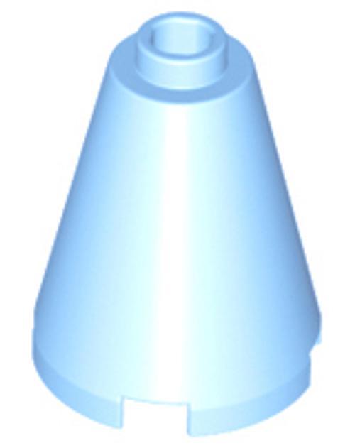Cone 2x2x2 - Open Stud (Bright Light Blue)