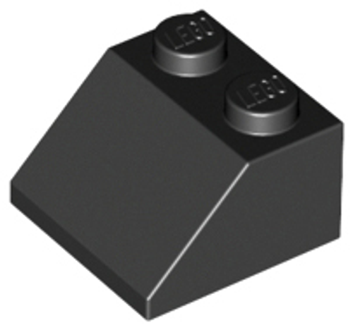 Slope 45 2x2 (Black)