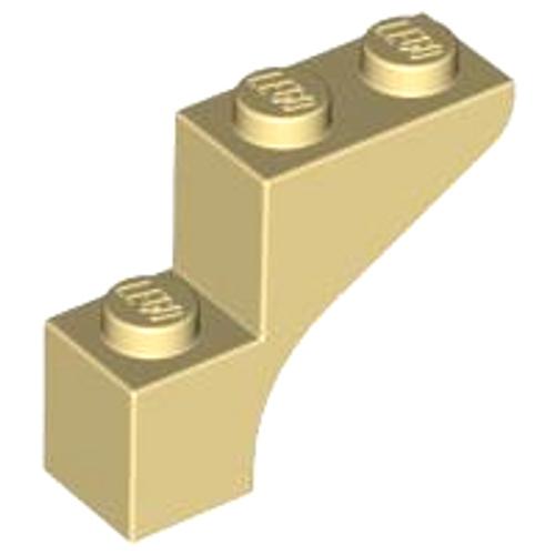 Brick, Arch 1x3x2 (Tan)