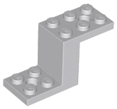 Bracket 5x2x2 1/3 with 2 Holes and Bottom Stud Holder (Light Bluish Gray)