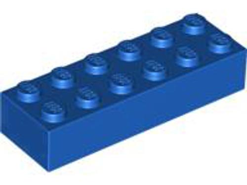 Brick 2x6 (Blue)