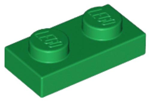 Plate 1x2 (Green)