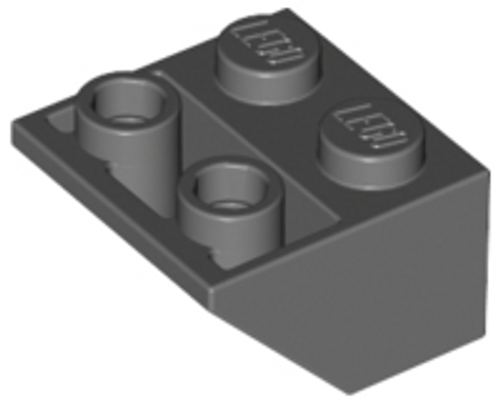 Slope, Inverted 45 2x2 (Dark Bluish Gray)