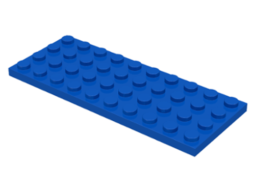 Plate 4x10 (Blue)