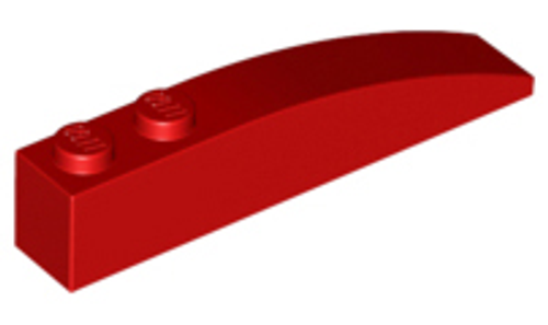 Slope, Curved 6x1 (Red)