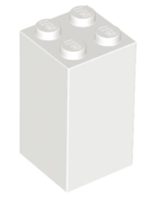 Brick 2x2x3 (White)