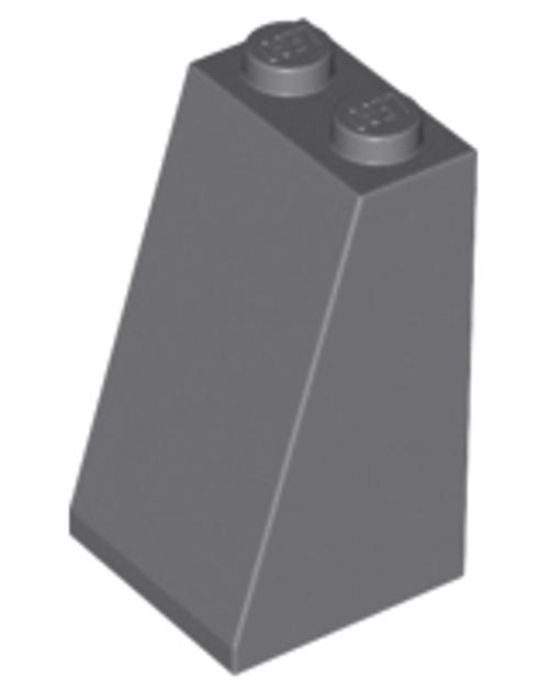 Slope 75 2x2x3 - Solid Studs (Dark Bluish Gray)