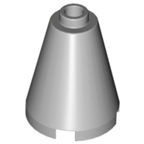Cone 2x2x2 - Open Stud (Light Bluish Gray)