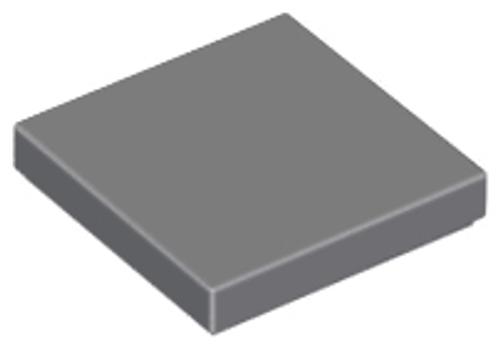 Tile 2x2 with Groove (Dark Bluish Gray)
