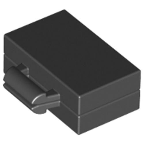 Minifigure, Utensil Briefcase / Suitcase (Black)