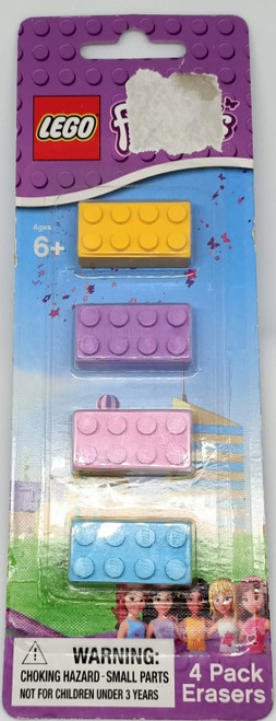 LEGO 4 Pack Erasers (OPPB)