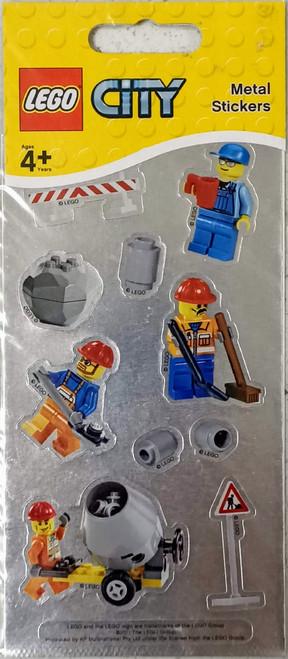 LEGO City Stickers (Metal)