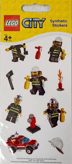 LEGO City Fire Stickers (White)