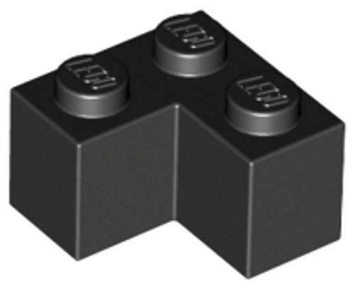 Brick 2x2 Corner (Black)