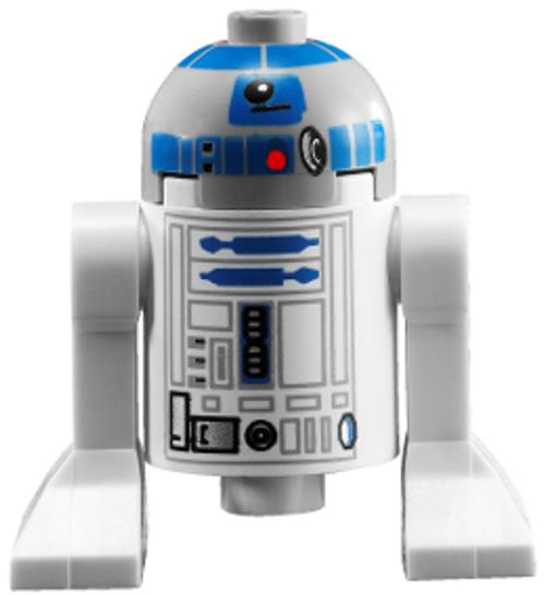 Astromech Droid, R2-D2, Light Bluish Gray Head (sw0217)