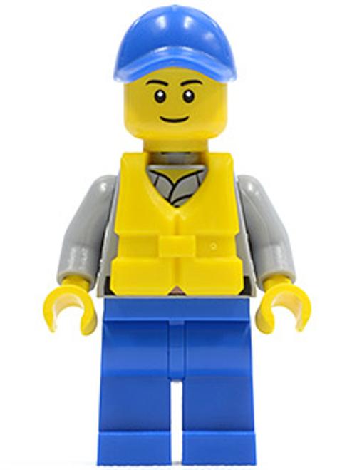 Coast Guard City - Crew Member, Blue Cap (cty0424)