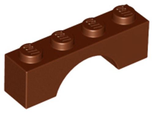 Brick, Arch 1x4 (Reddish Brown)