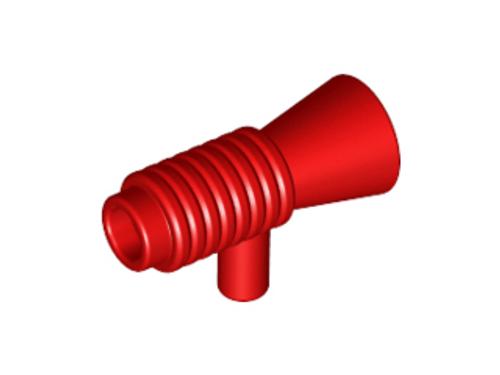 Minifigure, Utensil Loudhailer / Megaphone / SW Blaster (Red)