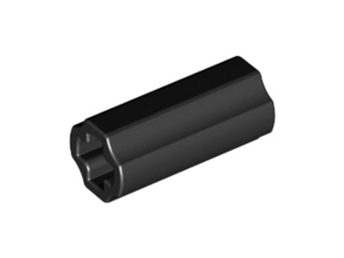 Technic, Axle Connector 2L (Black)