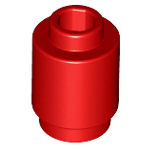 Round 1x1 Open Stud (Red)