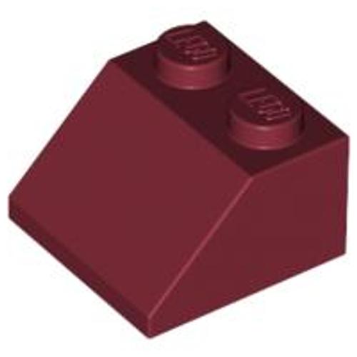 Slope 45 2x2 (Dark Red)