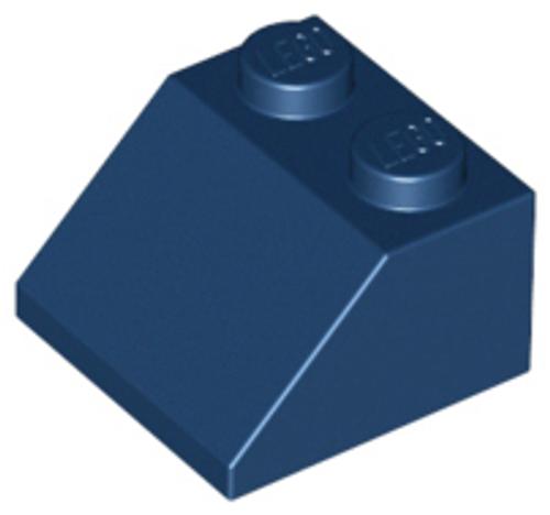Slope 45 2x2 (Dark Blue)