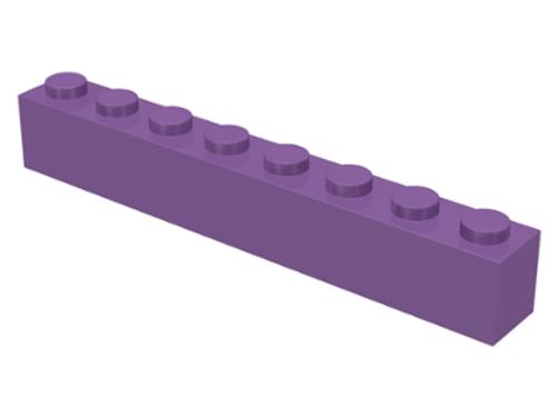 Brick 1x8 (Medium Lavender)