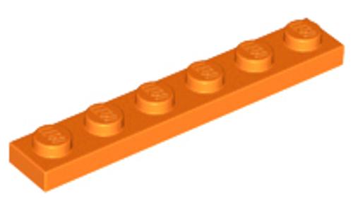 Plate 1x6 (Orange)