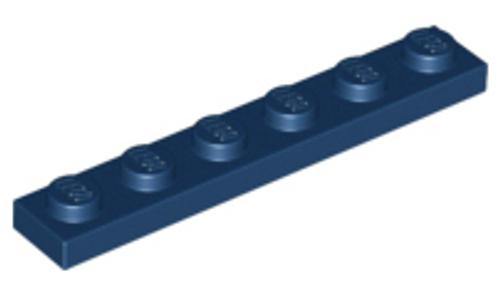 Plate 1x6 (Dark Blue)