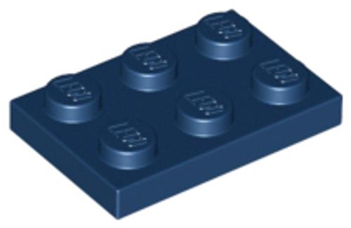 Plate 2x3 (Dark Blue)