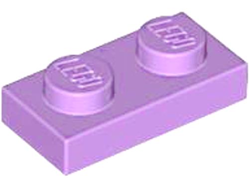 Plate 1x2 (Medium Lavender)