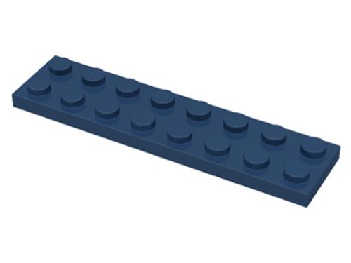 Plate 2x8 (Dark Blue)