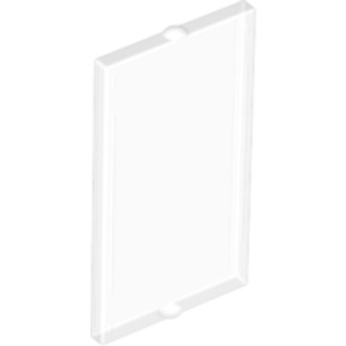 Glass for Window 1x2x3 Flat Front (Trans Clear)