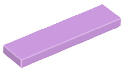 Tile 1x4 (Medium Lavender)