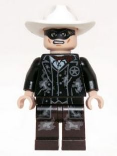 Lone Ranger - Mine Outfit, Male Minifigure (tlr010)