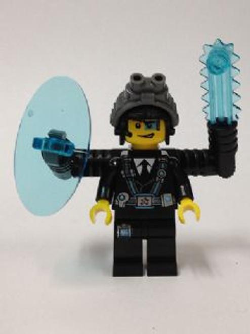 Agent Curtis Bolt, Male Minifigure, without sticker (uagt013)