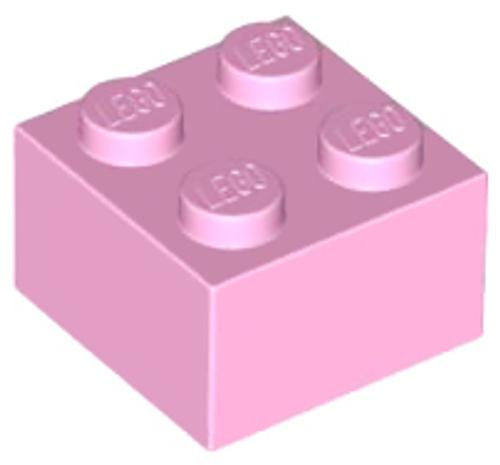 Brick 2x2 (Bright Pink)