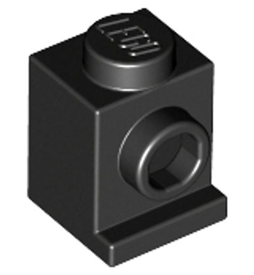 Brick, Modified 1x1 with Headlight (Black)