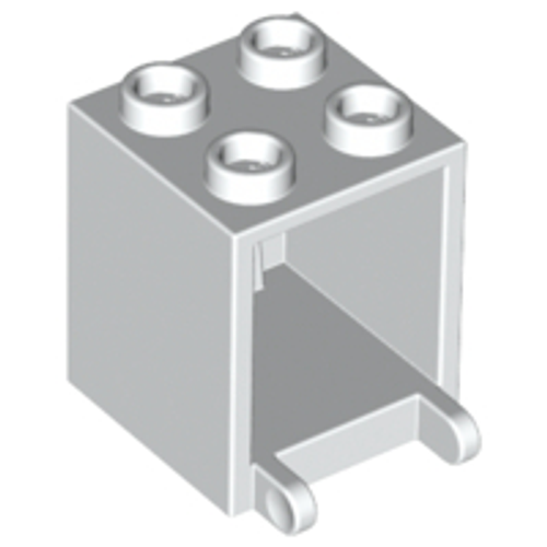 Container, Box 2x2x2 (White)